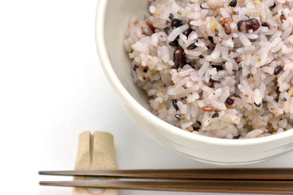 美味しく、手軽なアンチエイジングなごはん『雑穀米』